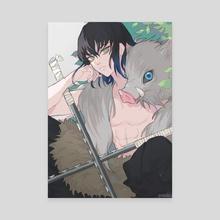 Inosuke Fanart - Canvas by Yuniri