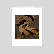 Ativan - Art Card by Cam Estela