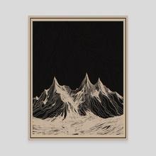 Coronet II - Canvas by Yemiello
