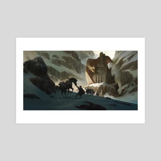 Dragon's Castle by Klaus Pillon