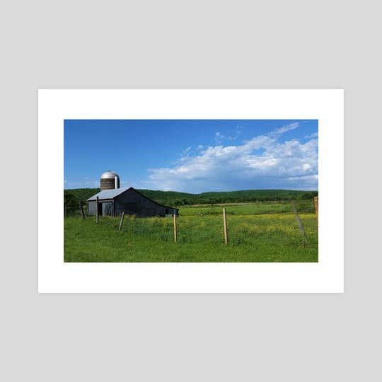 Country Scene by Ashley Gedz
