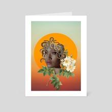 Medusa Divine - Art Card by Annika Shinn