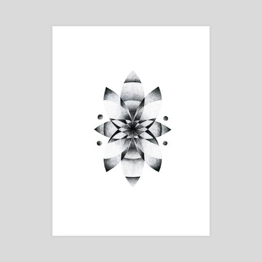 Mandala Three by Lauren Jane Forster