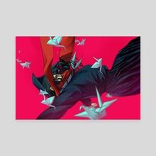 Ayano, Falling - Canvas by Shu