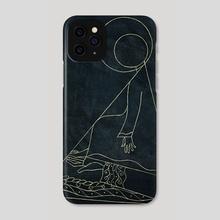 Suprematist Virgin - Phone Case by Igor Ponochevny