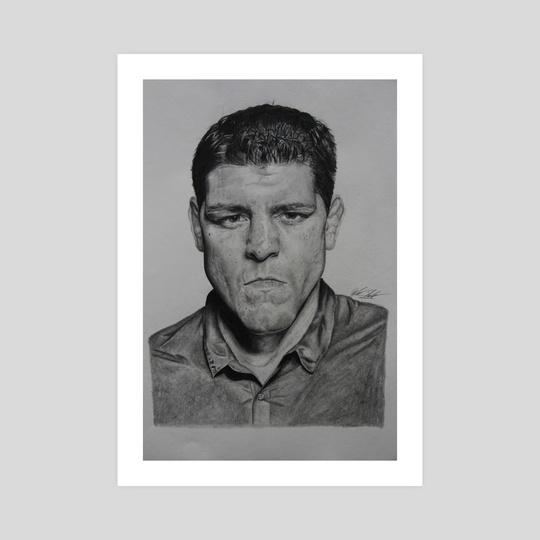 Nick Diaz  by Douglas Shindler