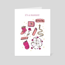 It's A Moment - Art Card by Dani Clover-Flick