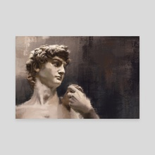 David - Michelangelo - Canvas by Arte Impressao