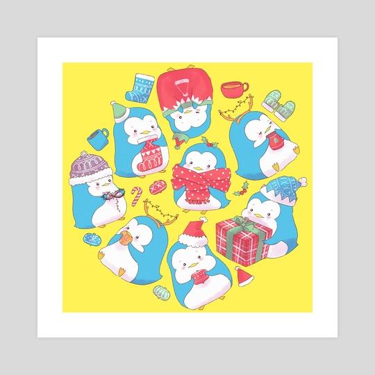 Christmas Penguin by Susan Gonzales