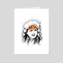 Kumari - Art Card by Wrinkle Comics