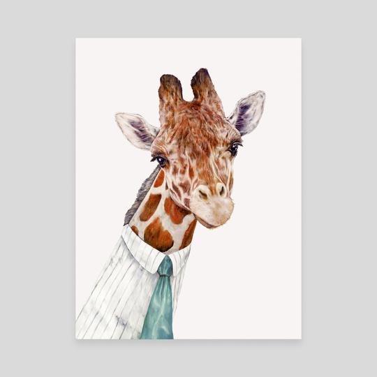 Male Giraffe by Animal Crew