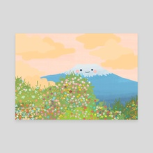 Mt. Wildflower  - Canvas by Jazzmin Smith