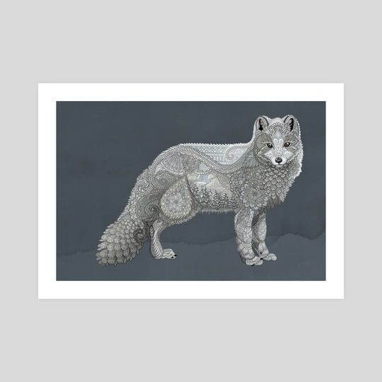Arctic Fox by Zanna Field