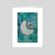 Lunareye - Art Card by DarkLetter Books