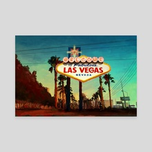 Las Vegas - Canvas by Filip Frandsen