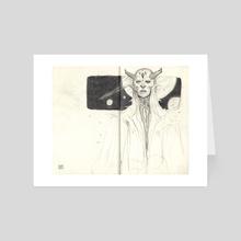 Space Oracle - Art Card by Dawn Carlos