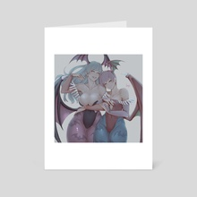Aensland Sisters - Art Card by Kuma NZ
