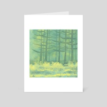 The Clearing - Art Card by Nic Squirrell