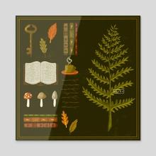 Fern Findings - Acrylic by Elske
