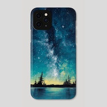 Milky Way - Phone Case by Diana Marcelino