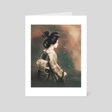 A Moment After - Art Card by Matthew Clonch
