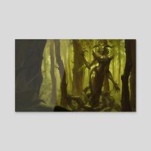 Elderwood Lissandra - Acrylic by Guilherme Prieto