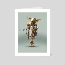 Yoda - Art Card by Bjorn Hurri