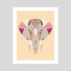 Mighty - Art Print by Nayla Smith