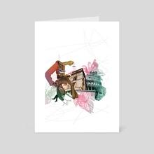 Roma - Art Card by Nazario Graziano