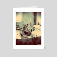 Fashionista - Art Card by Pete Harrison