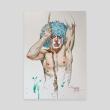 CLOWN - Canvas by Hongtao Huang