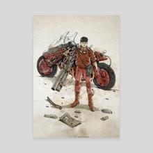 Rusty Kaneda - Canvas by Nico Di Mattia