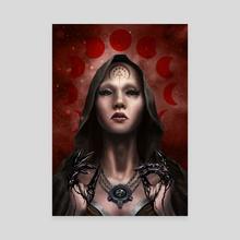 Inkfingers II - Canvas by Steve Pierce