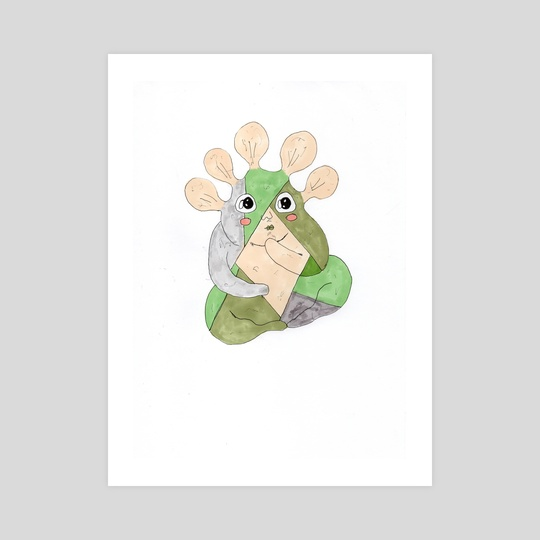 Plant creature by Galeria Ginkgo