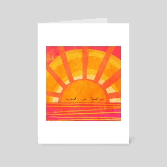 Radiant Sunset by Ffion Evans
