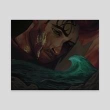 WOTL Will - Canvas by Wyatt Myers