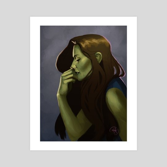 Elphaba 3 by Mali Ware