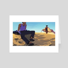 dunes - Art Card by Saint Vagrant