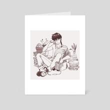 Succulents - Art Card by Samadrita Ghosh