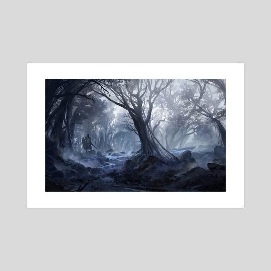 Misty Forest by Sebastian Wagner