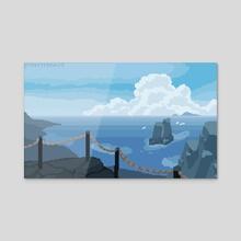 Ocean Breeze - Acrylic by Matthew Fisher