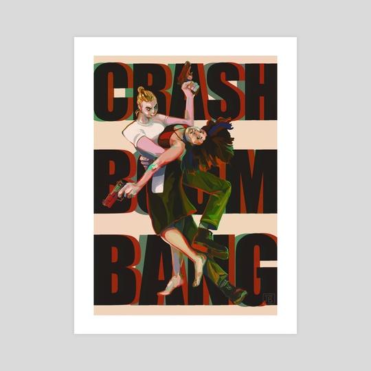 CRASH BOOM BANG by Tiffany Baxter