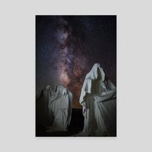 spooky ghosts in rhyolite - Canvas by Abdul Dremali
