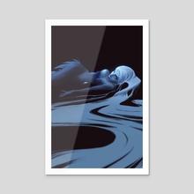Siren - Acrylic by Jake Panian