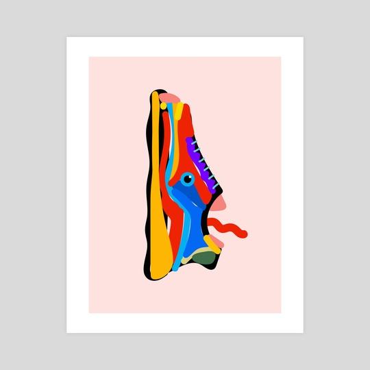 Sneaker Monster by STUDIOMIKLUS