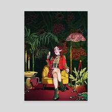 Sit Down - Canvas by Ashley Simpson