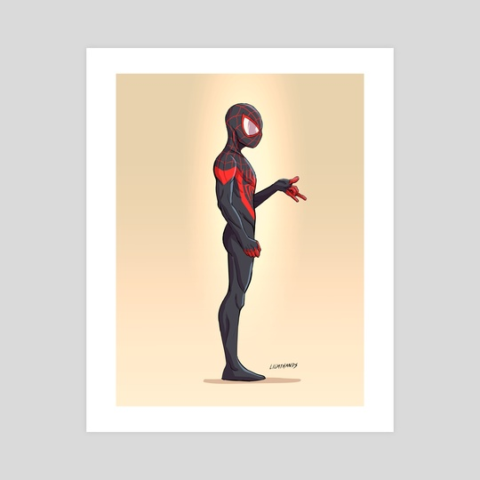 Miles Morales by Johnny Lighthands