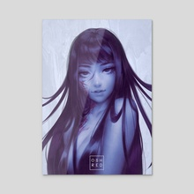 Tomie  - Acrylic by osh RED