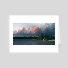 Calm after the storm - Art Card by Ari Vannas
