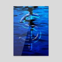 Dollar - Acrylic by Bruce Rolff